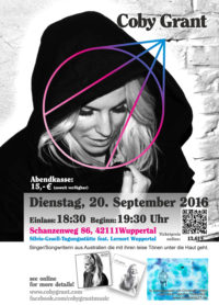 Coby Grant in Wuppertal
